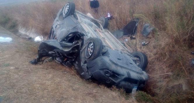 Silivride bayram dönüşü feci kaza: 4 ölü, 2 yaralı