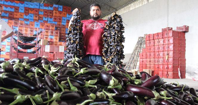 İzmirde zam şampiyonu patlıcan