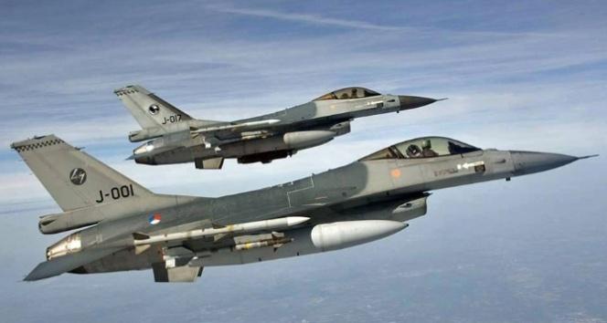 Kuzey Iraktaki 26 PKK hedefi yerle bir edildi