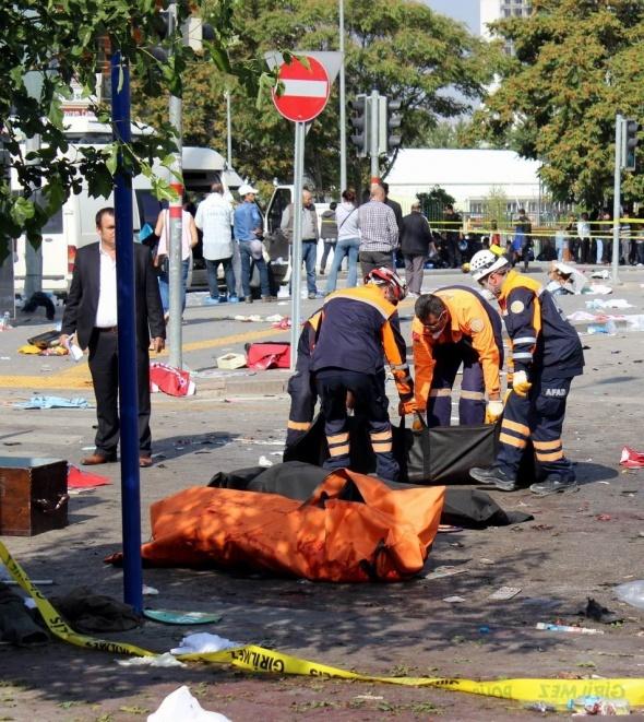 Başkent'te patlama: 86 ölü, 186 yaralı