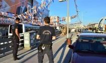 AK Parti önünde şüpheli poşet paniği