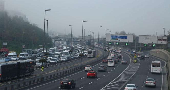 İstanbulda trafik yoğunluğu yüzde 6ya kadar düştü