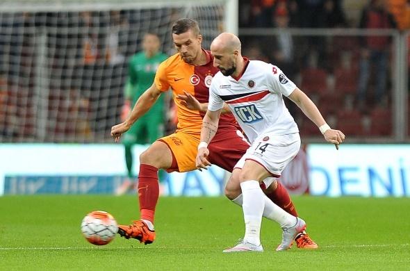 Galatasaray-Gençlerbirliği maçından kareler