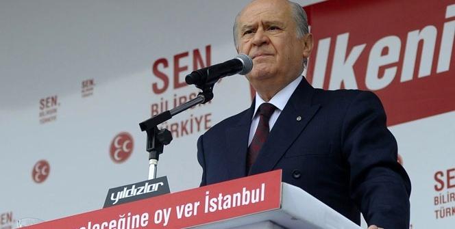 Bahçeli: 'IŞİD bir piyondur, PKK bir maşadır '