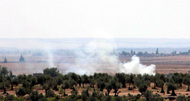 ÖSO Halepte PYD mevzilerine saldırdı