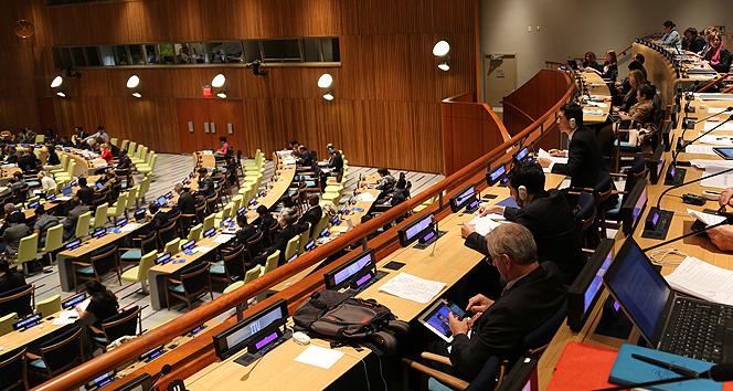 BM Genel Kurulunda Filistin tasarısı kabul edildi