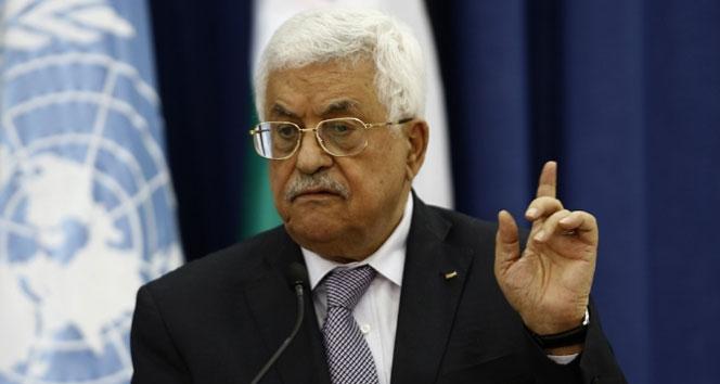 Filistin Başkanı Abbastan flaş açıklama: Kararı reddediyoruz
