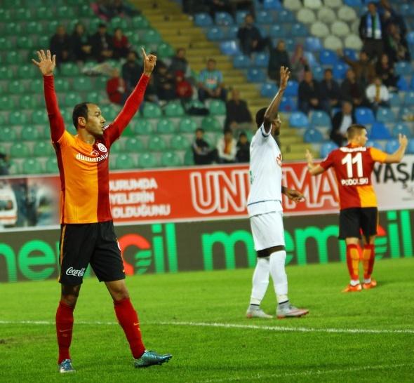 Rize Galatasaray'a acımadı
