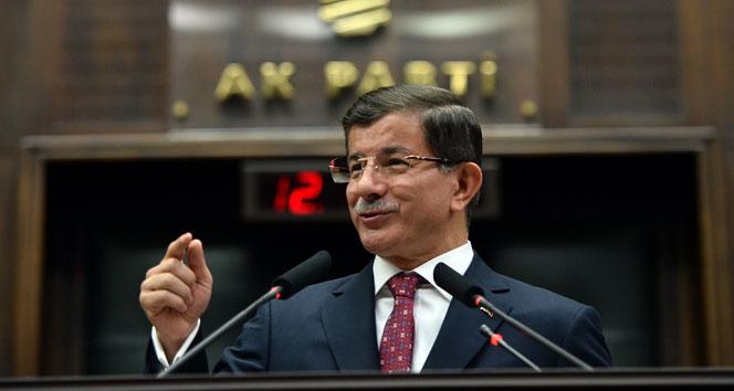 Başbakan Davutoğlunun konuşmasının şifreleri