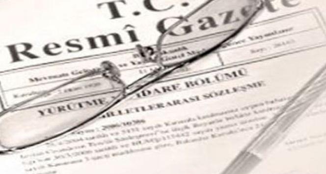 Atama kararı Resmi Gazete'de yayımlandı