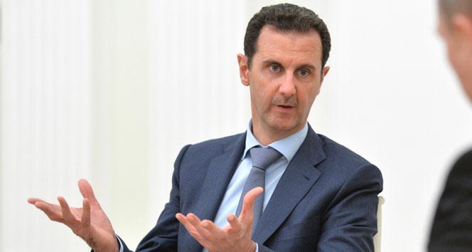 Esad: 'Batı kontrolü kaybettiği için saldırdı'