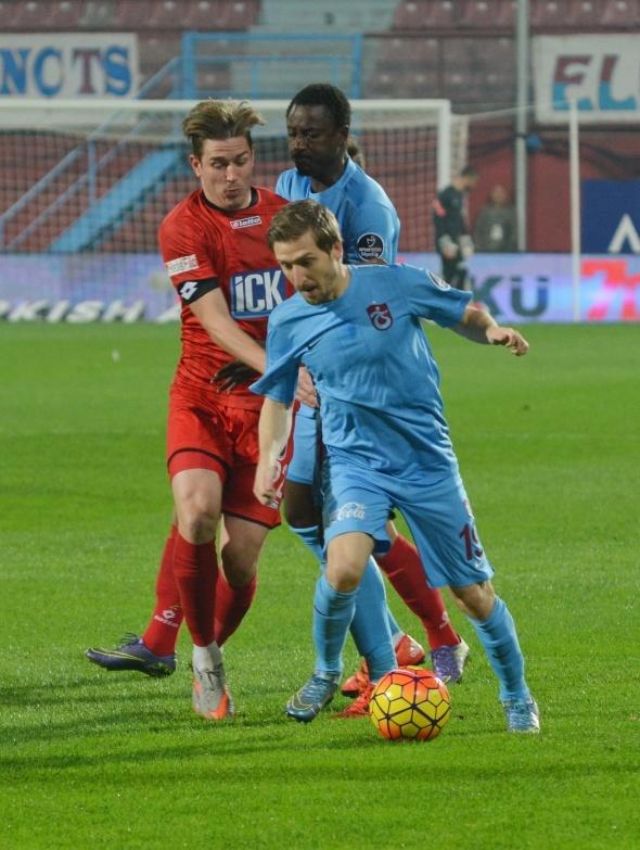 Trabzonspor: 1 - Gençlerbirliği: 0- Maç özeti- Trabzonspor - Gençlerbirliği geniş özeti