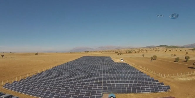 Dinar'da güneşten elektrik üretilecek
