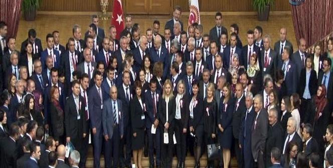 81 ilden gelen öğretmenler Meclis'te