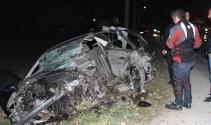 Bursa'da aşırı hız can aldı: 1 ölü 1 yaralı