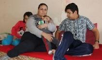 Üç çocuğuyla yaşam mücadelesi veriyor