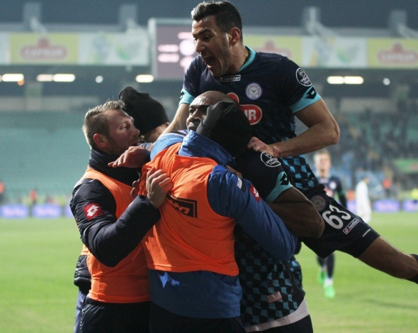 Çaykur Rizespor 3 Trabzonspor 0 -Maç özeti-