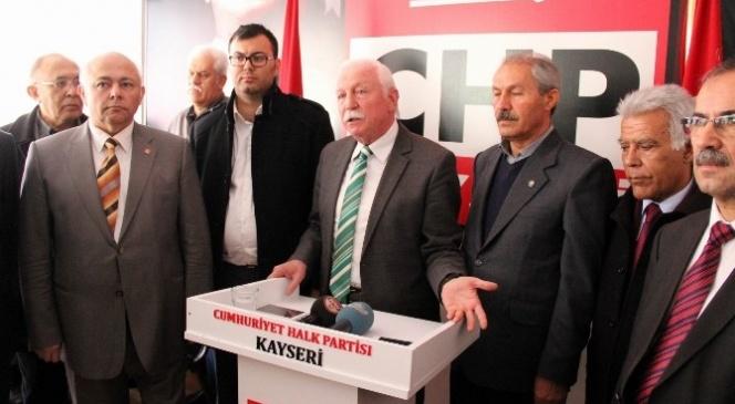 Kemal Nakipoğlu CHP İl Başkanlığı İçin Adaylığını Açıkladı