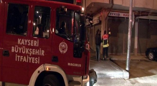 'yangın' İhbarı İtfaiyeyi Alarma Geçirdi