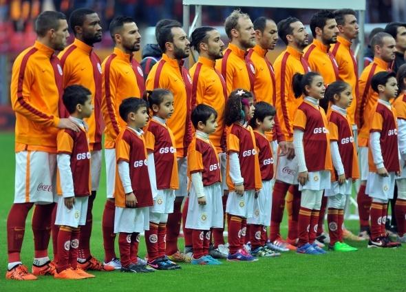 Galatasaray - Akhisar Belediyespor maçından kareler