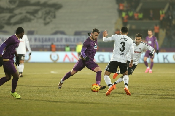 Osmanlıspor 2 Beşiktaş 3