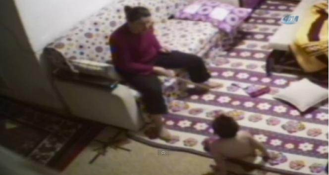İşkenceci üvey annenin dehşeti saniye saniye kaydedildi