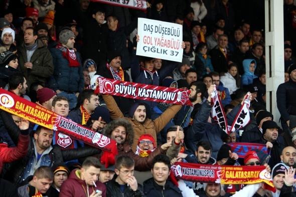 Kastamonuspor 1 Galatasaray 2 -Maç özeti-