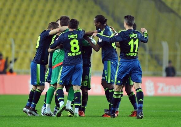 Fenerbahçe Kadıköy'de gol oldu yağdı