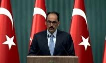 Cumhurbaşkanlığı Sözcüsü Kalın'dan Filistin açıklaması