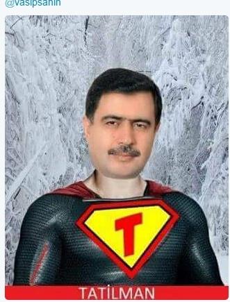 Güldüren 'Vasip Şahin' caps'leri!