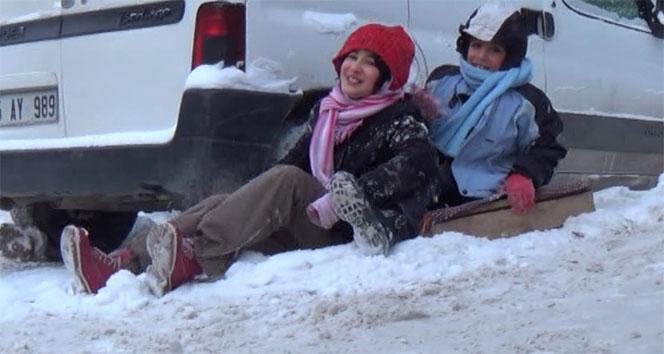 Karsta okullara kar tatili