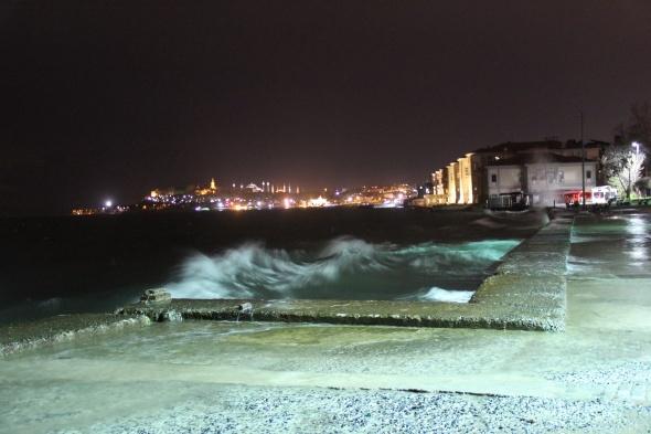 İstanbul'da şiddetli lodos!