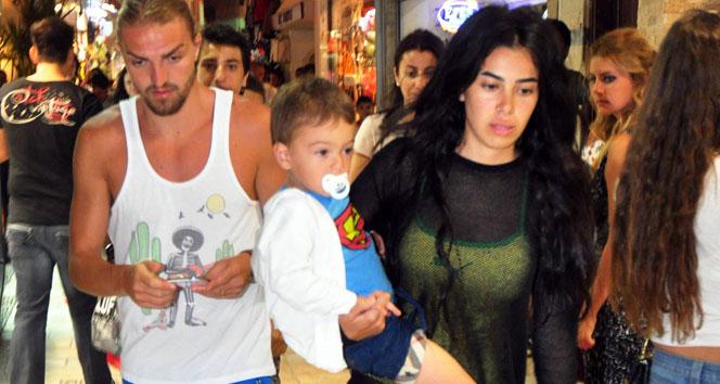 Caner Erkin ile Asena Atalay'ın velayet davasında gerginlik yaşandı