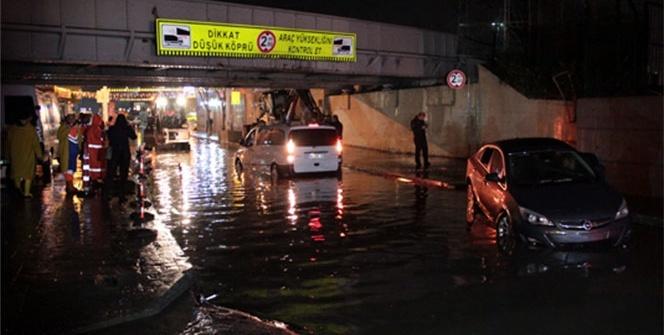 İstanbul'da sağanak çilesi!