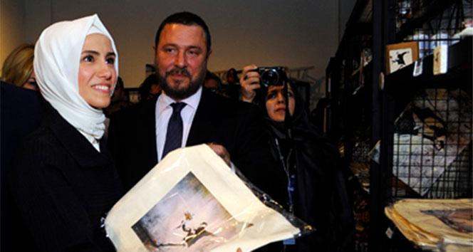 Sümeyye Erdoğan: Banksynin eserlerini bir arada görmek beni çok etkiledi