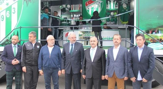 Bursaspor 'store TIRı'na Kavuştu