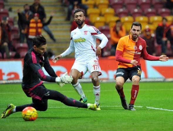 Galatasaray 3 Medicana Sivasspor 1