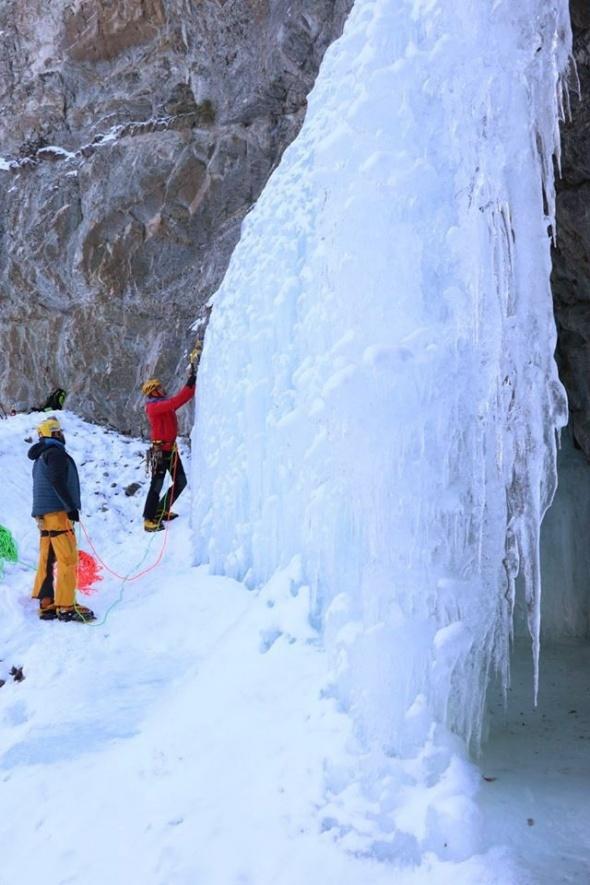 Buz gibi tırmanış başlıyor