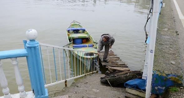 Su seviyesi yükselince Venedik'e benzedi