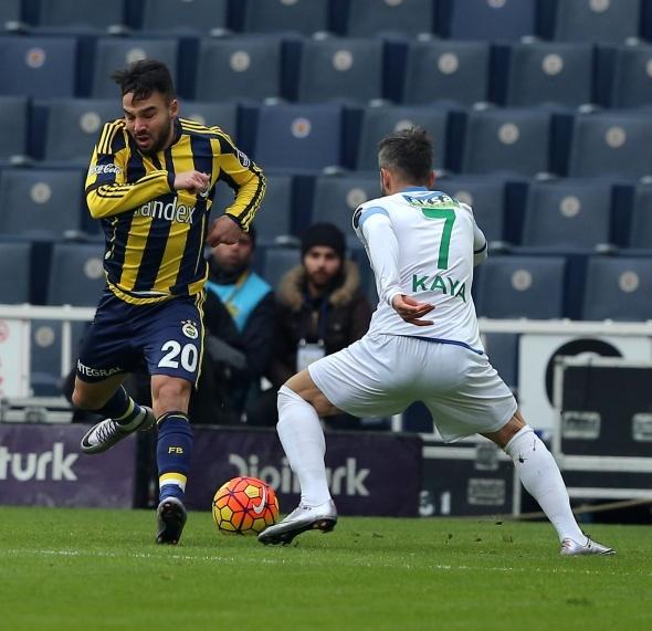 Fenerbahçe-Çaykur Rizespor maçından kareler