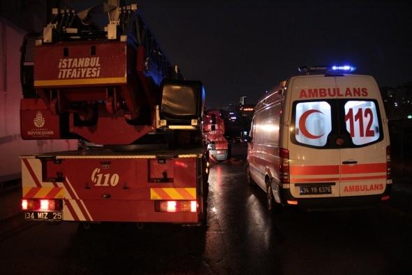 İstanbul güne yangınla uyandı!