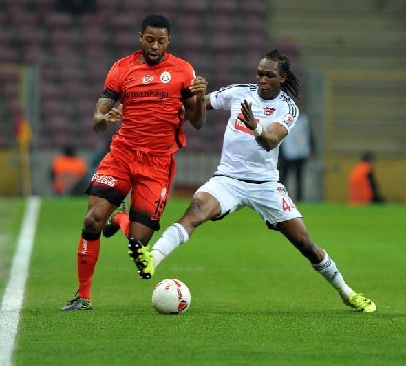Galatasaray-Gaziantepspor maçından kareler