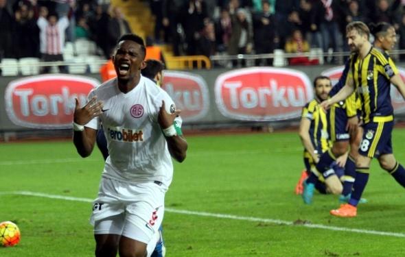 Antalyaspor 4 Fenerbahçe 2 -Maç özeti-