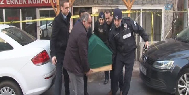 Kahvehane saldırısında ölen şahsın cenazesi Adli Tıp'ta