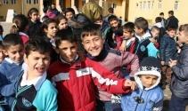 Silopi'de öğrencilerin okul sevinci