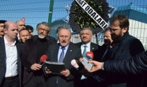 Trabzon'da fındık fiyatı protestosu