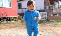 Mavi ışık hastası minik Poyraz'dan çok güzel haber