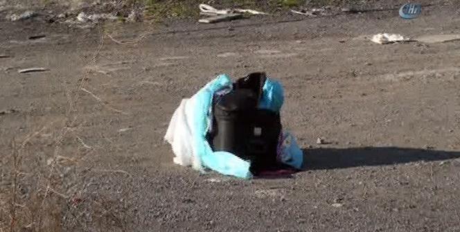 Valiz içerisinde parçalanmış kadın cesedi bulundu