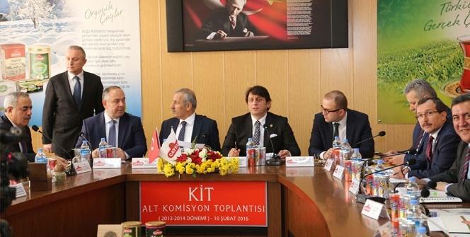ÇAYKUR KİT Komisyonu Rize'de toplandı