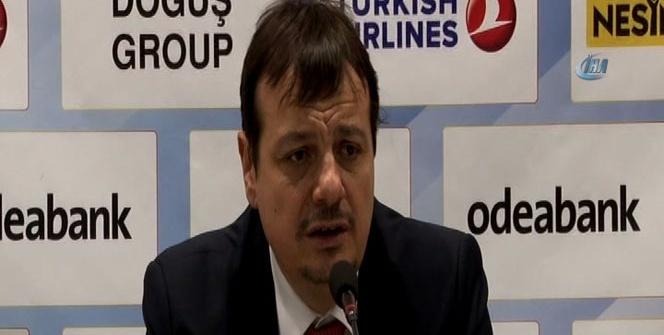 Ergin Ataman: 'Karşıyaka eşleşmesi Türk basketbolu adına şanssızlık'
